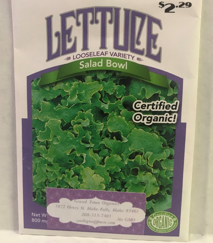 Lettuce – Salad Bowl