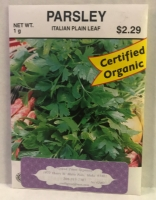 Parsley – Italian Plain Leaf